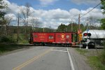 D&H Bay Window Caboose 35723