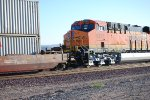 A Very Brand New BNSF 6743  as the Lead Rear DPU pushes a Hot Z westbound at 07:04 am PDT towards LA.