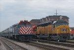 METX 614 & UP 6936