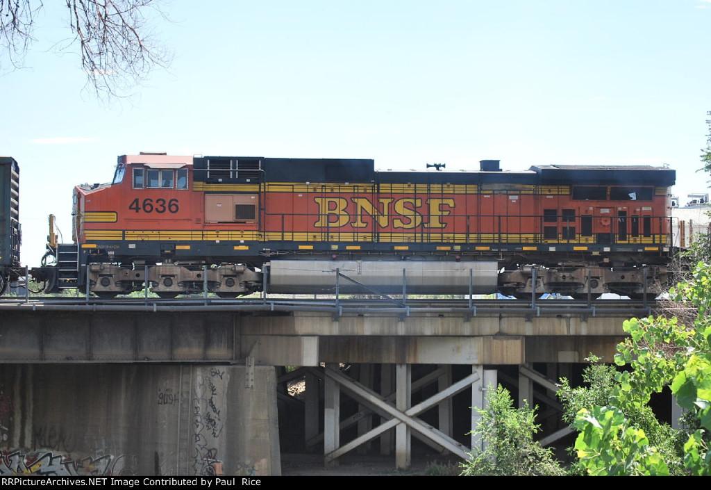 BNSF 4636