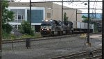 Norfolk Southern Freight Passing Harrisburg Station