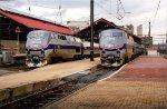 Amtrak P42 109 & 106