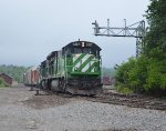 Green Machines switching at Brownville