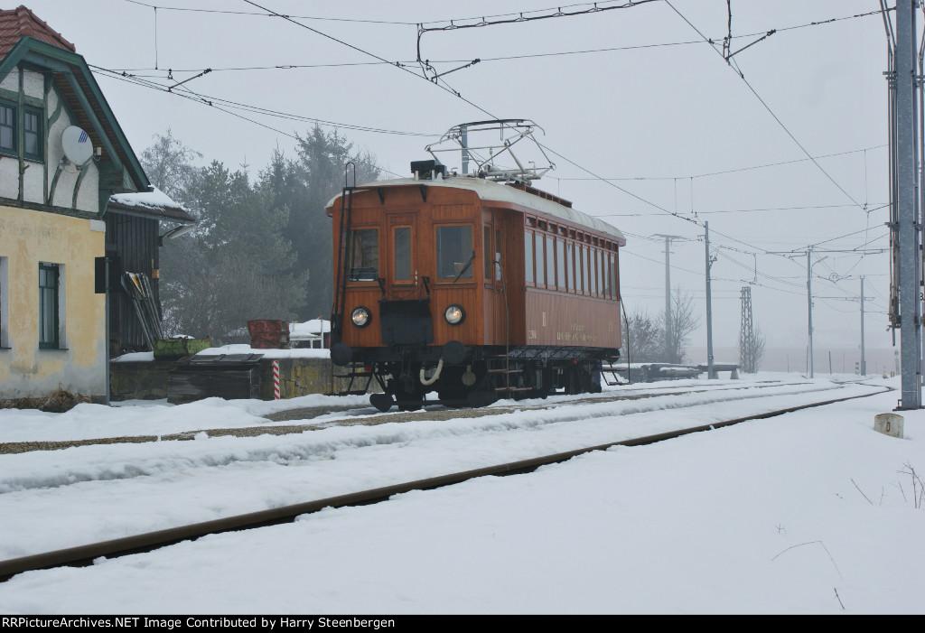 old EMU of the Linzer Lokaalbahn