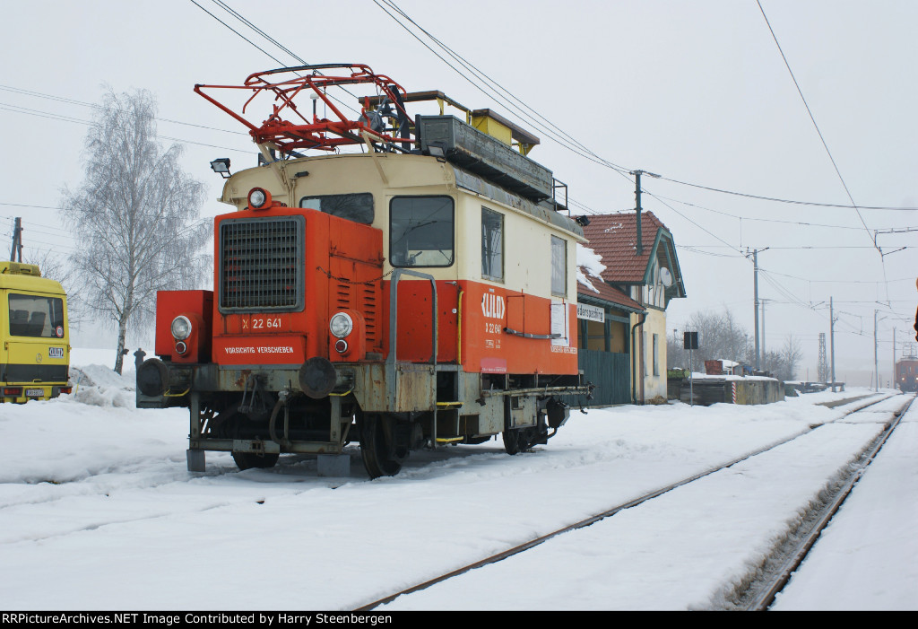 MofW equipment of the Linzer Lokaalbahn at Linz, Austria