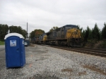 NB freight Q540 with a nice consist @ CP Day
