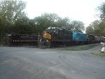 Winchester & Western Locomotives Rest After A Day Of Work At Gore
