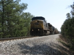 NB freight Cartersville Local by the bridge over the lake