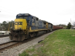 SB ballast train in the hole