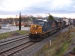 SB intermodal train Q127