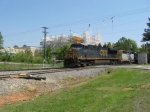 NB intermodal train Q142