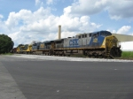 SB freight Q541 with ex Ohio Central GE's in tow