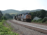SB coal train working hard