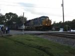 NB empty hopper train