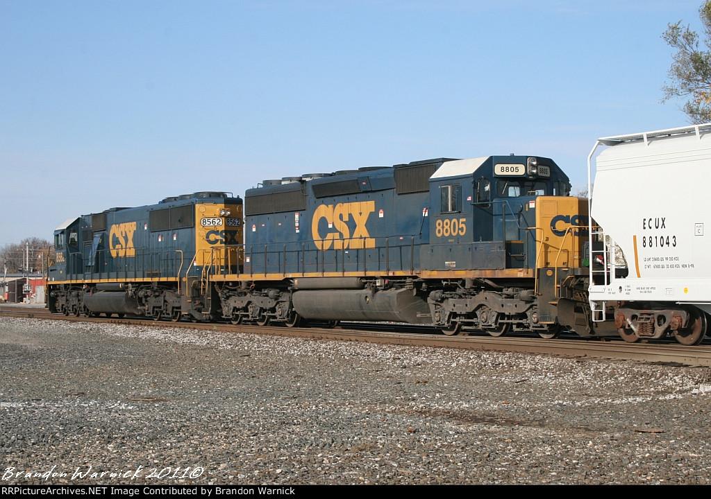 CSX  #8805