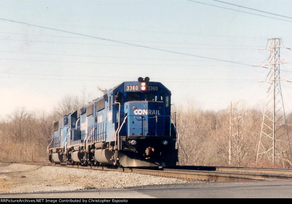 Conrail GP40-2 3360