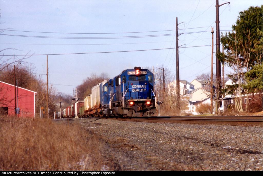 Conrail SD50 6717