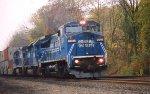 Conrail 8-40CW 6123