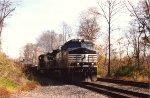 NS 9-40CW 9350 passes CP TARA