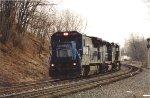 Conrail 8-40B 5089