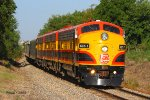 Eastbound KCS Special Business Train - The Southern Belle