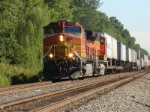NS Train 213 heads west for Hagerstown MD on a sunny Saturday AM