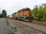 Eastbound CSX Q300 heads for its terminus at Oak Island