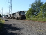 NS train 18N heads east with an ex EL SD45-2 as its third unit