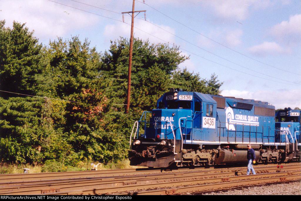 NS SD40-2 3436