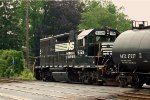 NS GP38-2 5324 leads H24, the 'Hershey Shifter'