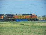 BNSF C44-9W 4542