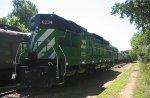 Ride a GN train at Osceola MN
