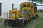 Minnesota Commercial (ex BNSF GE uboat and GP9 slug) in St Paul MN in July 2012.