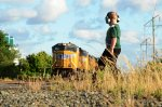 An Young Railfan