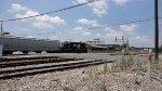 NS 3100 pushes hoppers past Dalton Depot
