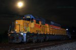 HLCX SD60 5994 and a nice full moon