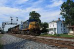CSXT AC44CW 359 leads K547 north