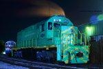 Squaw Creek Southern Railroad SD35M 11