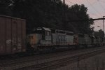 CSX SD40-2 8320 YN1 on Q409-24