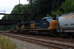 CSX 7380 with it's markers on