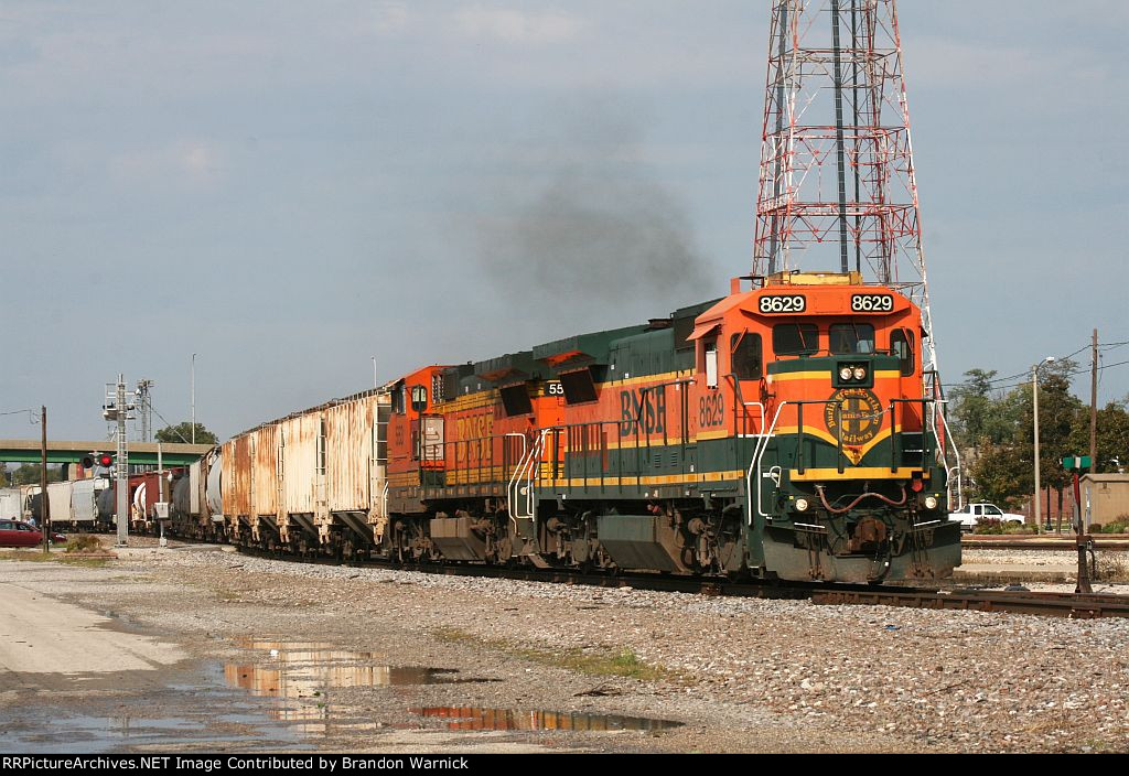 BNSF #8629