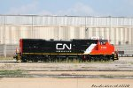 Newly painted CN Dash 8 #2159