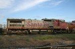 Future CN Dash 8, BNSF #855