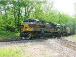 Lackawanna Heritage Locomotive on the Portland Secondary