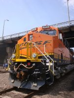 BNSF 6688 At Trainfestival 2011