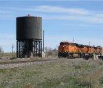 BNSF 7524 in Bliss, Idaho