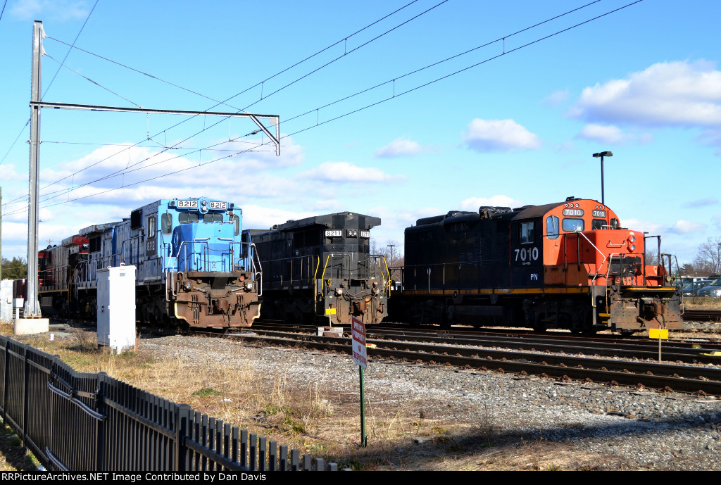 The PN yard in Lansdale, PA