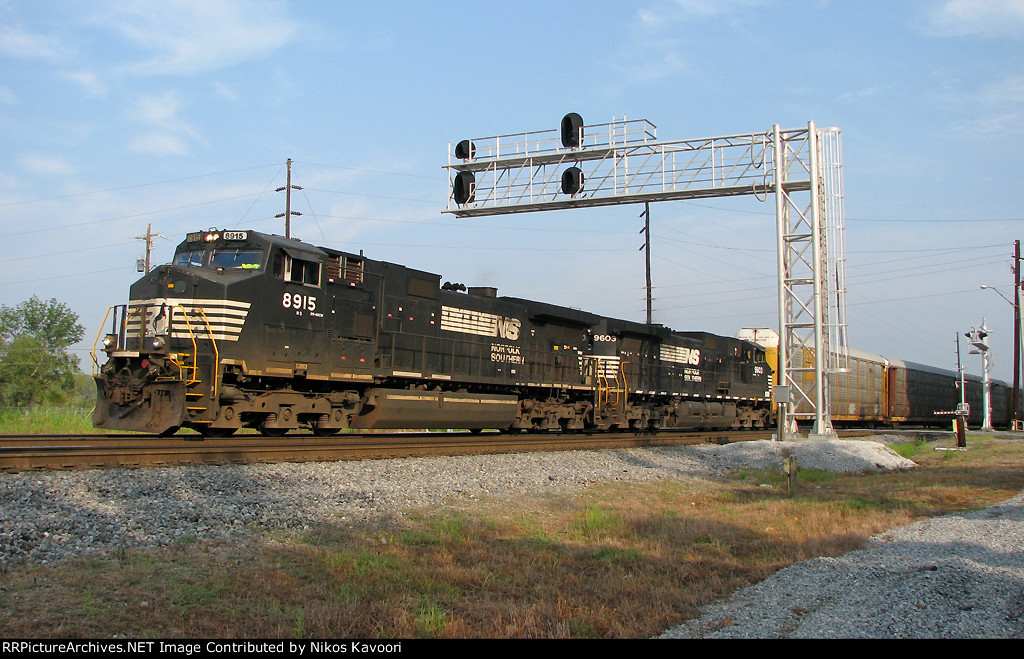 NS 8915 with fail stripes leads 295