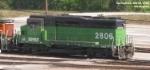 BNSF 2806