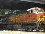 BNSF 4430 in Harrisonburg, Virginia